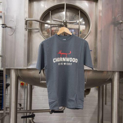 Charnwood Brewery Men's Grey T-shirt