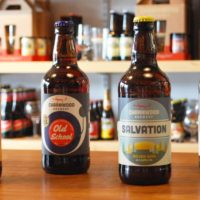 Bottled beer from Charnwood Brewery