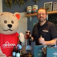 Launch of Rainbow Fox beer