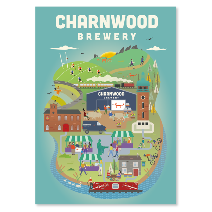 Poster Launched For Our Second Birthday Charnwood