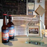Siba award charnwood brewery