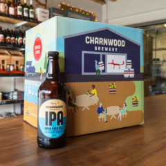 IPA case from Charnwood Brewery