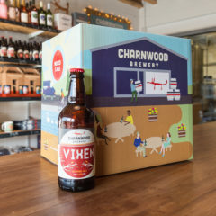 Vixen case from Charnwood Brewery