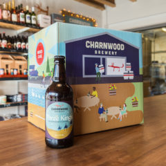 Three kings case from Charnwood Brewery