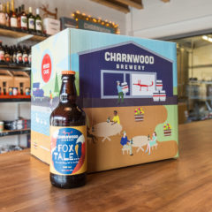 Fox tale case from Charnwood Brewery