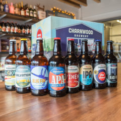 Mixed case of Charnwood Brewery beers