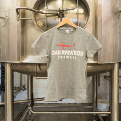 Women's Grey T-Shirt from Charnwood Brewery