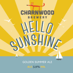 Hello Sunshine from Charnwood Brewery