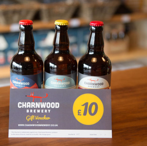 Charnwood Brewery Gift Voucher