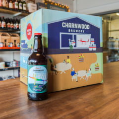 Rainbow Fox case from Charnwood Brewery