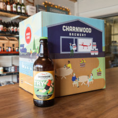 Try Hopped case from Charnwood Brewery