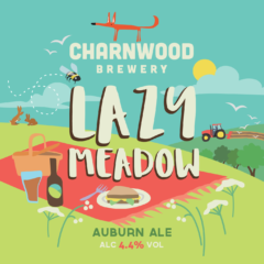 Lazy Meadow from Charnwood Brewery