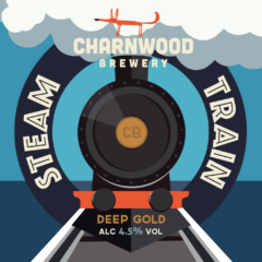 Steam Train from Charnwood Brewery