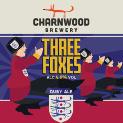 Three Foxes from Charnwood Brewery