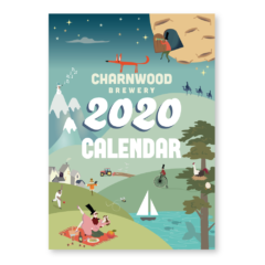 2020 calendar for Charnwood Brewery